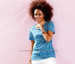 Красивая футболка для стильного образа от тсм Tchibo Чибо, Германия, 42-46