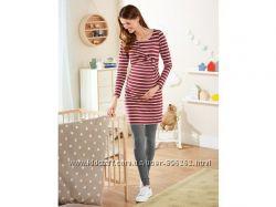 Красивое хлопковое платье для беременных Esmara, Германия, размер L
