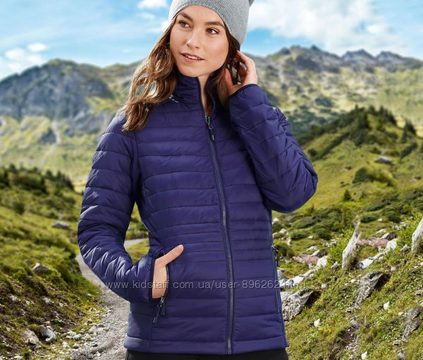 Стильная стеганая куртка с пропитка ecorepel  от тсм Чибо Tchibo, С и М