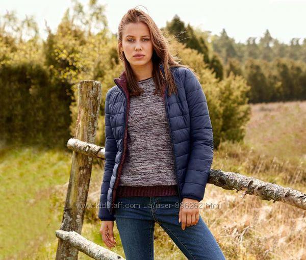 Стильная двухсторонняя стеганная деми куртка, тсм Чибо Tchibo, 44-46