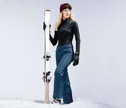 Красивые лыжные штаны на байке, мембрана 3000, от тсм чибо tchibo, 46-48