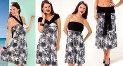 Красивое сарафан-платье-трансформер 4 в 1 от тсм Tchiboчибо, Германия, 42-6