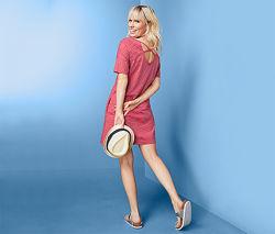 Стильное трикотажное летнее платье  от тсм Tchibo чибо, Германия, 44-46
