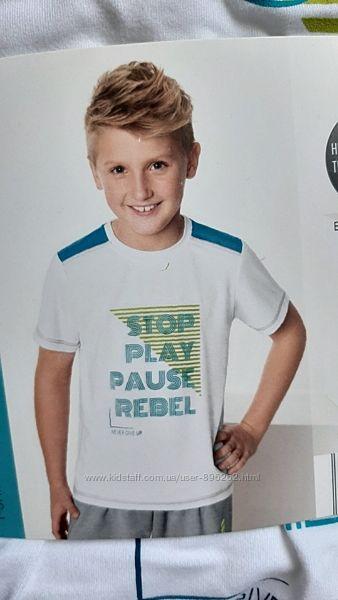 Функциональная спортивная футболка от Crane, Германия, размер 122-128 см