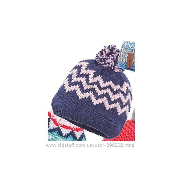 Теплая зимняя шапка для девочки на флисе от Crivit, Германия