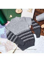 Теплые свитера для мальчиков 104-122р