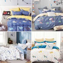 Постельные комплекты в детскую кроватку ТМ Viluta. Новинка