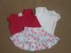 Продам футболочки и юбку для девочки ТМ Laura Ashley, George, Mini Club