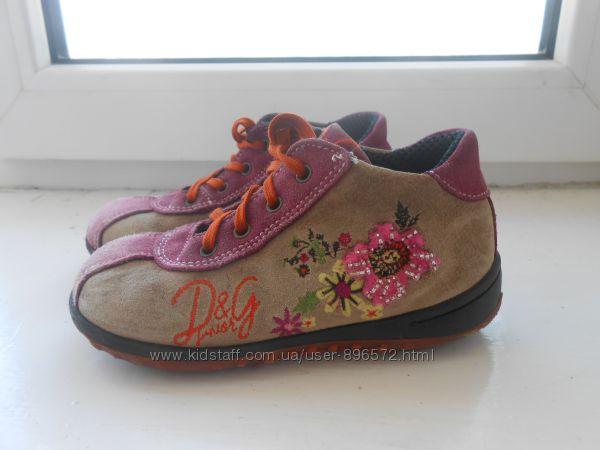 Симпатичные ботиночки для девочки ТМ D&G