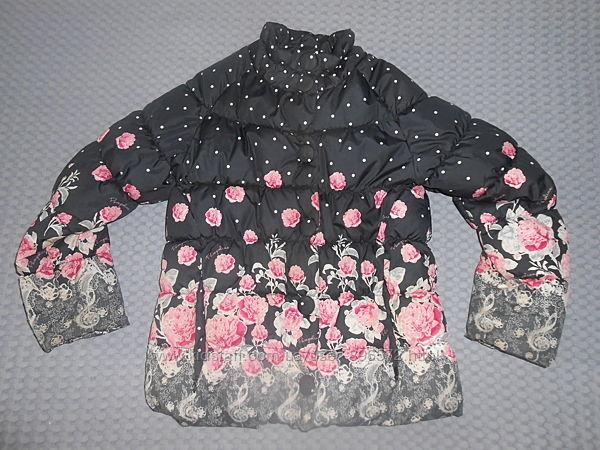Красивая демикурточка для девочки ТМ Pampolina