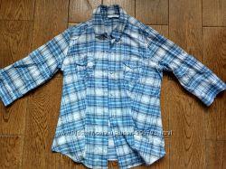 Хлопковая рубашка New Look UK 14, ЕU 12