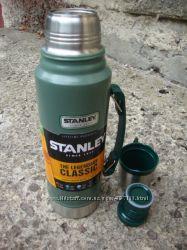 Термос STANLEY Classic Hertiage 1 L - Зеленый 10-01254-038