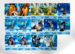 Ледниковый период 4 3D карточки из Сельпо