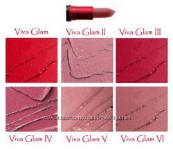 Помады MAC серий Viva Glam и Lipstik