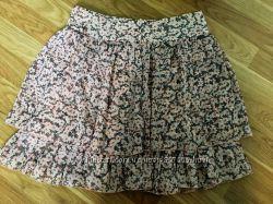 Стильная шифоновая юбка Oodji р. 36 - S
