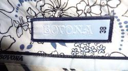 Синие стильные брюки Bovona 38р.
