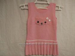 Платье - жилетка  на девочку 2 лет.
