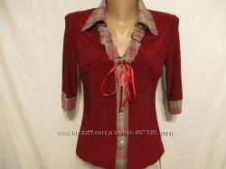 Блузка стрейчевая,  оригинальная