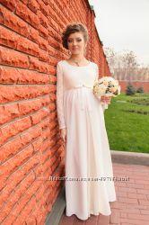 Платье свадебное для будущей мамочки ОЧЕНЬ КРАСИВОЕ