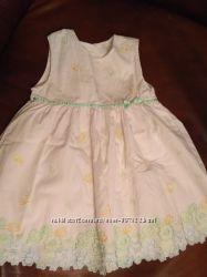 шикарное хлопковое платье