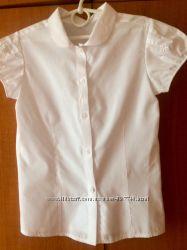 Школьная блузка F&F на девочку 7-9 лет