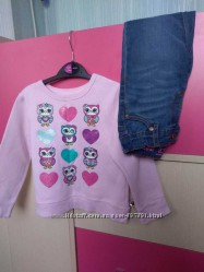 Флисовый свитер Garanimals для девочки 3 года