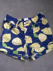 Шортики с лимончиками на девочку 3 года Children&acutes Place