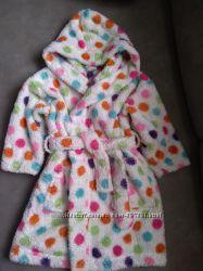Теплый халатик Next  на девочку 1, 5-2 годика