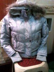 Куртка короткая с капюшоном