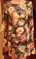 Платье из принта