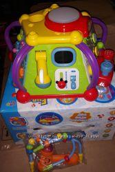 Музыкальная развивающая игрушка, сортер, мультибокс, детская игрушка