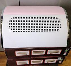 Настольная вытяжка для маникюра на три вентилятора 40Вт
