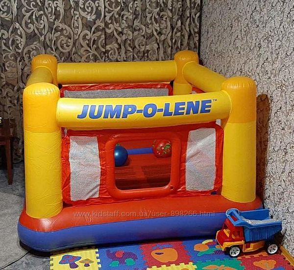 Детский надувной игровой центр-батут Intex 48260 , 174174112см