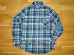 Стильная молодежная рубашка  Topman р. S