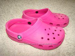 Кроксы Crocs оригинал размер M4 W6 на 36 24 см по стельке