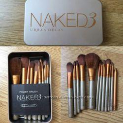 Кисти для макияжа NAKED 3.