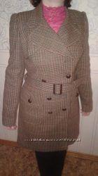 Пальто демисезон, Next, 44р- 46р , 14 M, L, с шерстью, новое