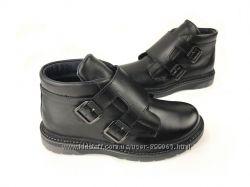 Натуральные кожаные ботинки, Bistfor, размеры с 33 по 41, возможн. примерка