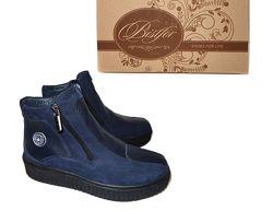 Натуральные демисезонные ботинки, TM Bistfor, с 36 по 40, возможна примерка