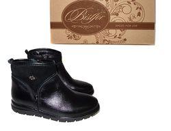 Натуральные демисезонные ботинки, TM Bistfor, с 32 по 37, возможна примерка