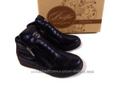 Натуральные демисезонные ботинки, Тм Bistfor, размер с 32 по 36, возм прим