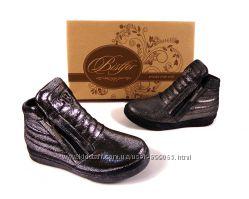 Натуральные стильные ботинки, Тм Bistfor, с 26 по 31 рр, возможна примерка
