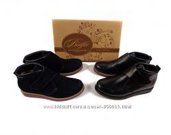 Натуральные  ботинки ТМ Bistfor, возможна примерка, р. 32 - 36