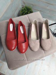 Распродажа натур кожаных балеток
