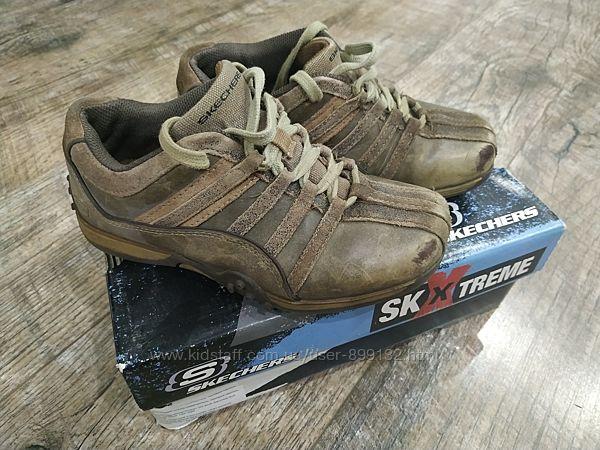 Туфли кроссовки кожа Skechers 33,5 р