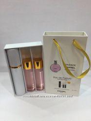 Chanel Chance eau Tendre подарочный наборчик 3 по 15 мл