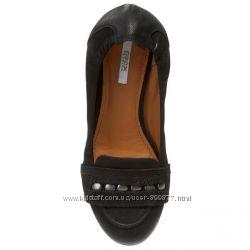 туфли, балетки GEOX натуральная кожа