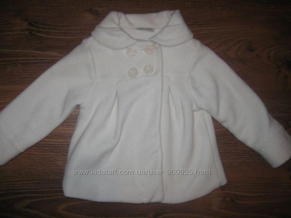 Флисовое пальто NEXT, некст, 3-4 года.