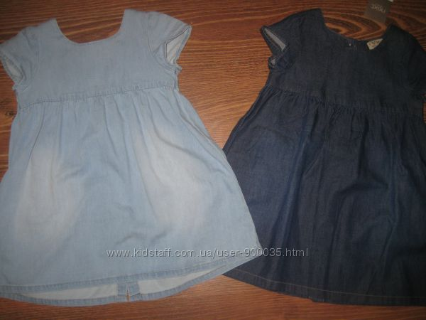 Джинсовые платья, сарафаны NEXT некст  3-4 года.