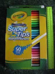 Crayola фломастеры 50 шт. Крайола смывающиеся